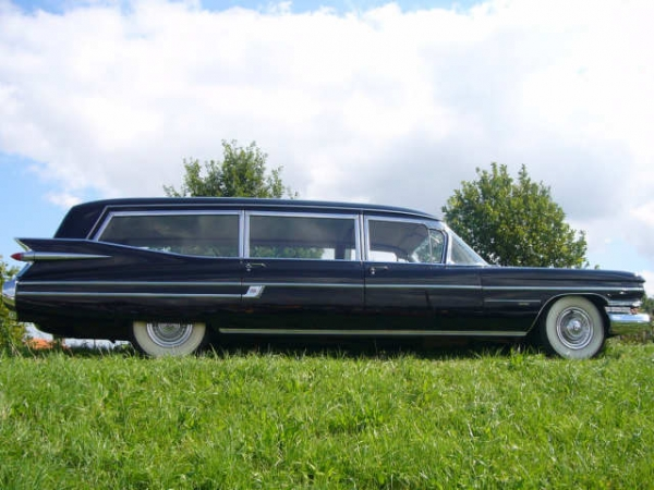 Cadillac hearse photo - 2