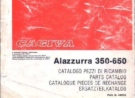 Cagiva alazzurra photo - 3