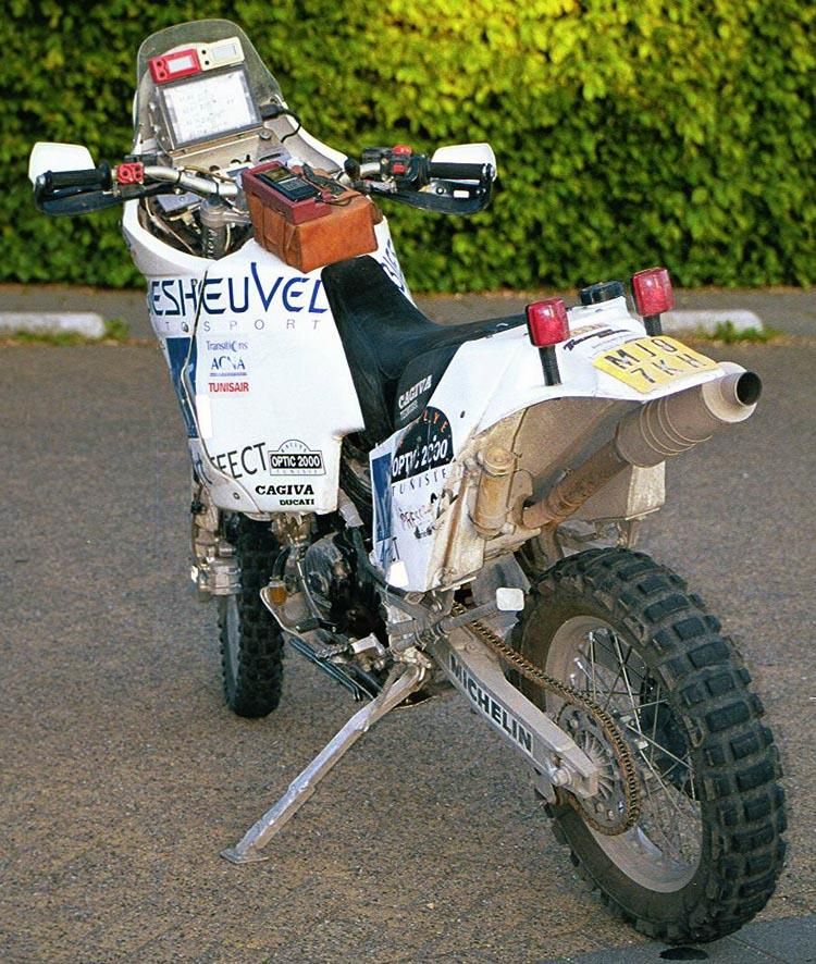Cagiva elefant photo - 1