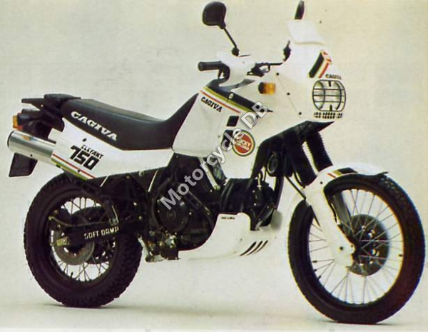 Cagiva elefant photo - 3