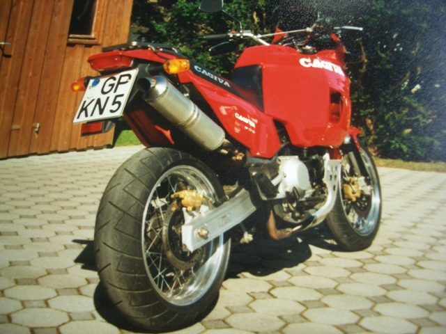 Cagiva elefant photo - 4