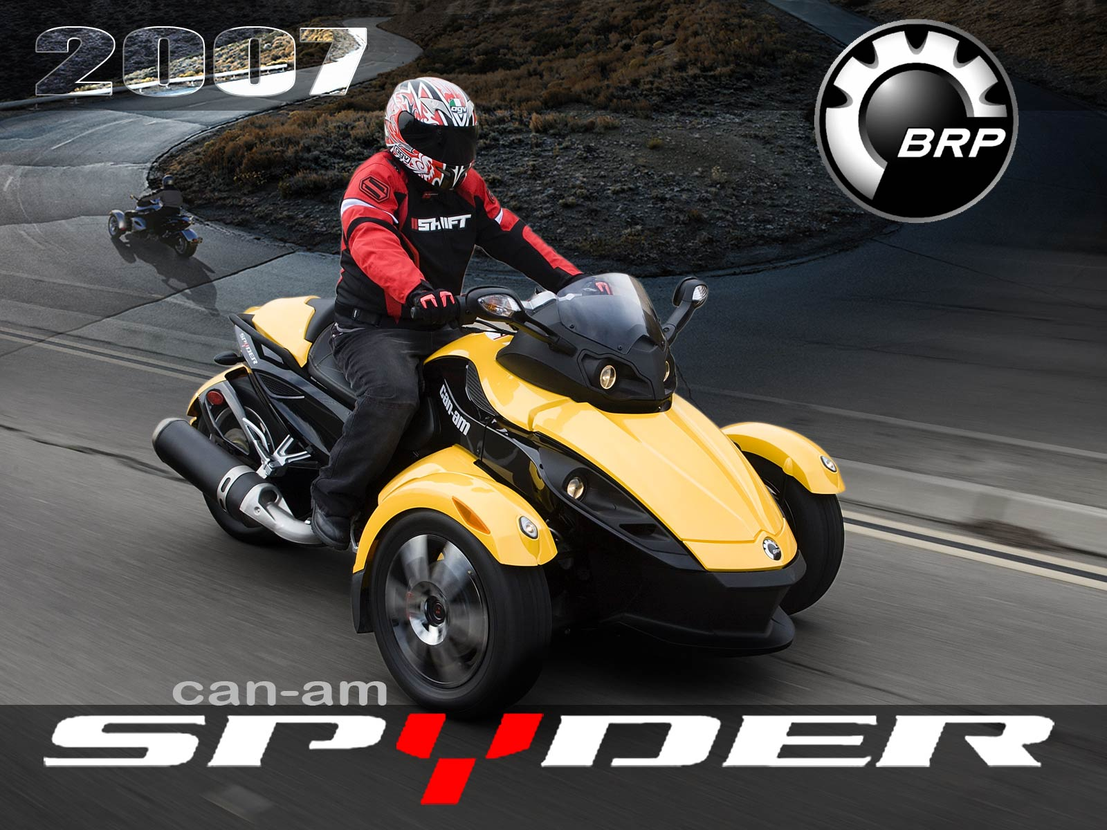 Can-am spyder photo - 2