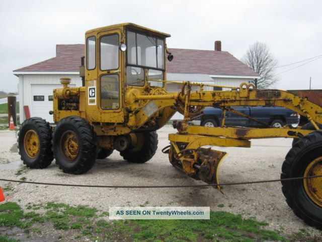 Caterpillar 112f photo - 4