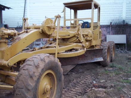 Caterpillar 120b photo - 3
