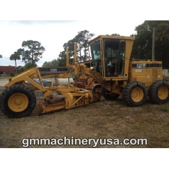 Caterpillar 120h photo - 2