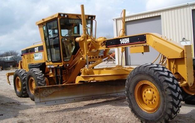 Caterpillar 140h photo - 4