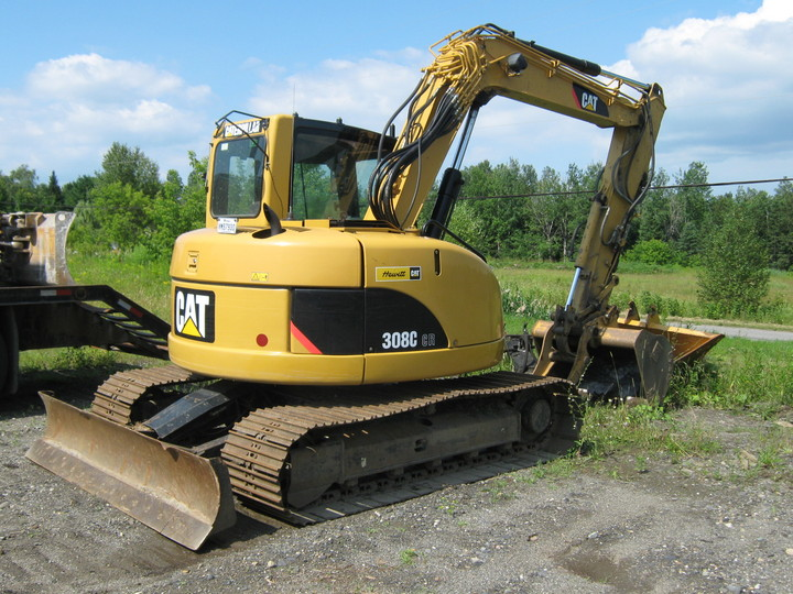 Caterpillar 308c photo - 1