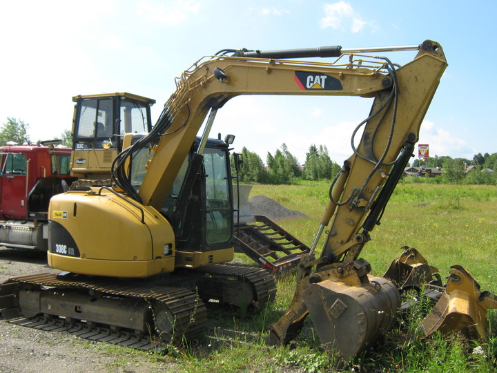 Caterpillar 308c photo - 2