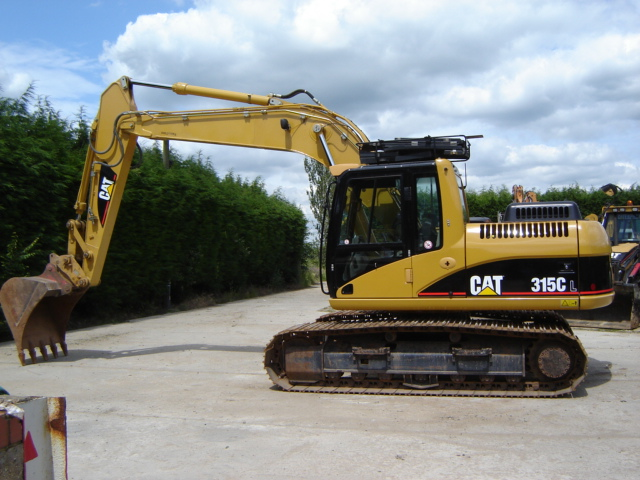 Caterpillar 315cl photo - 1