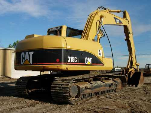 Caterpillar 315cl photo - 2