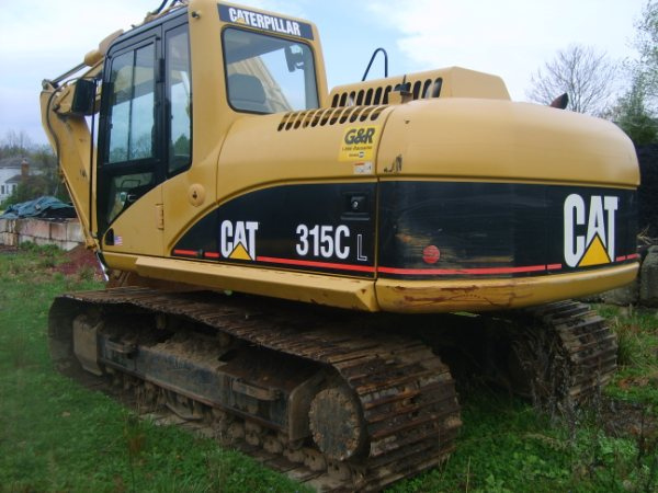 Caterpillar 315cl photo - 3