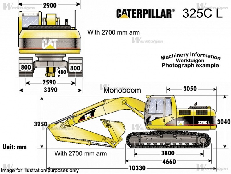 Caterpillar 325c photo - 3