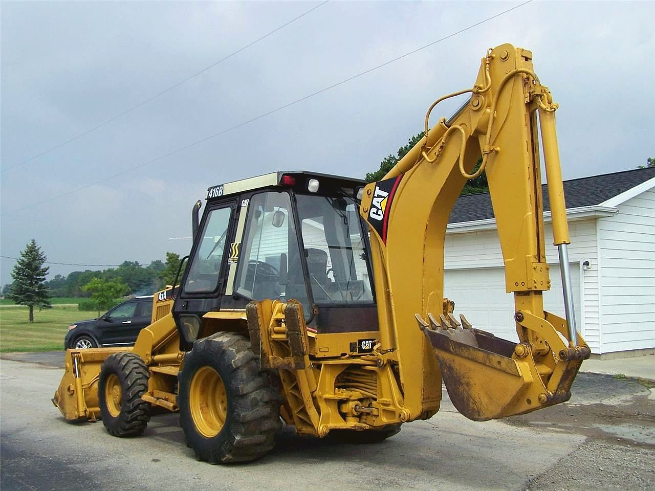 Caterpillar 416 photo - 2
