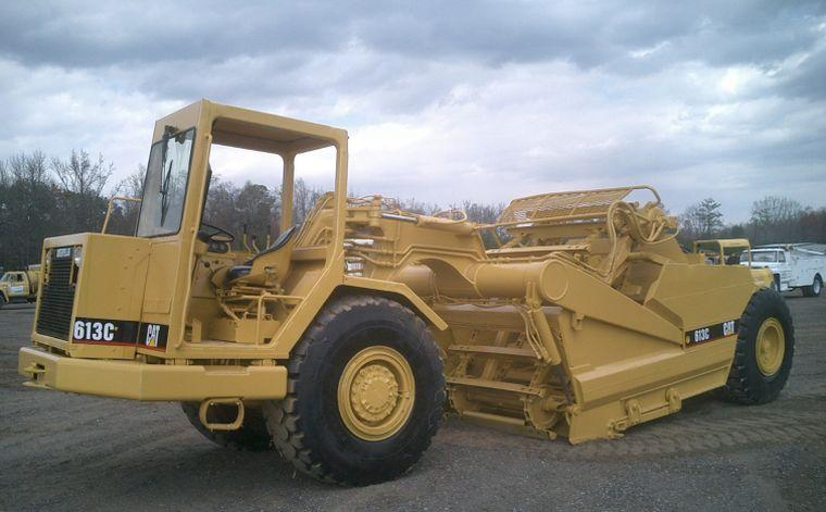 Caterpillar 613c photo - 1