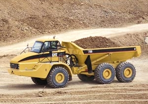 Caterpillar 735 photo - 1
