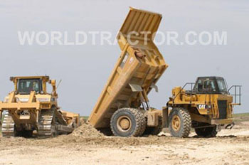 Caterpillar 769d photo - 1