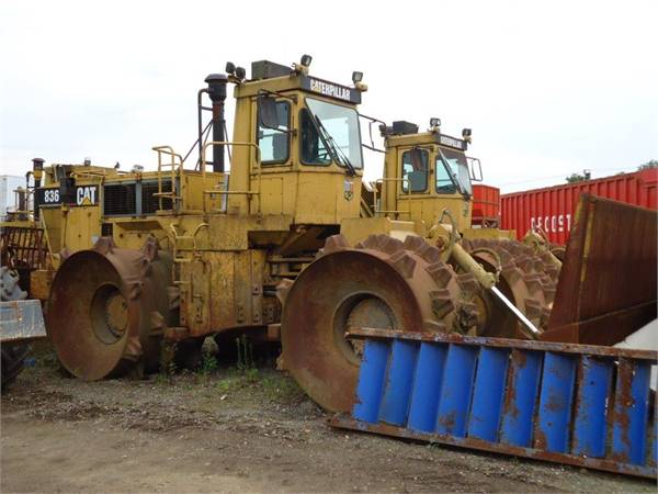 Caterpillar 836 photo - 2