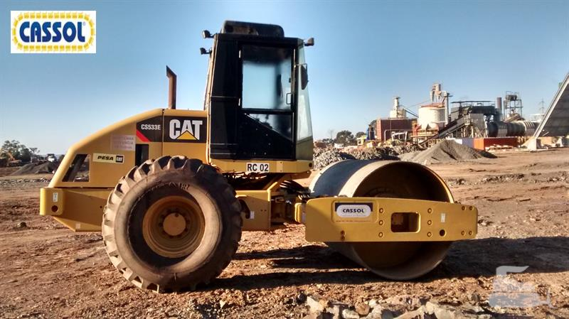 Caterpillar cs-533e photo - 4