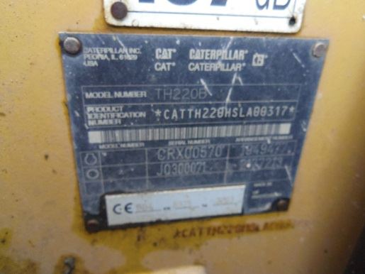 Caterpillar th220b photo - 1