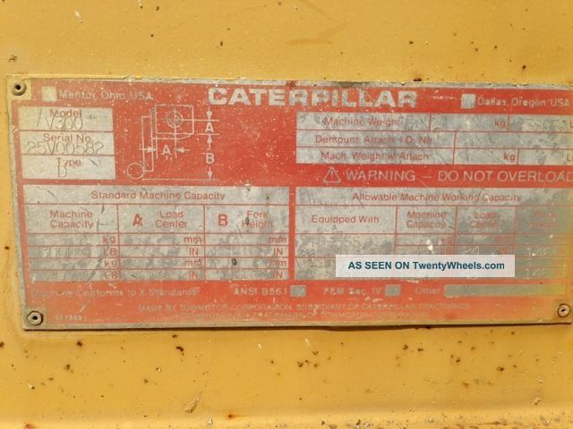 Caterpillar v300 photo - 1