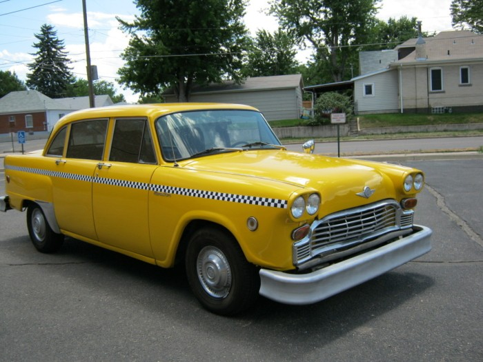 Checker cabs photo - 2