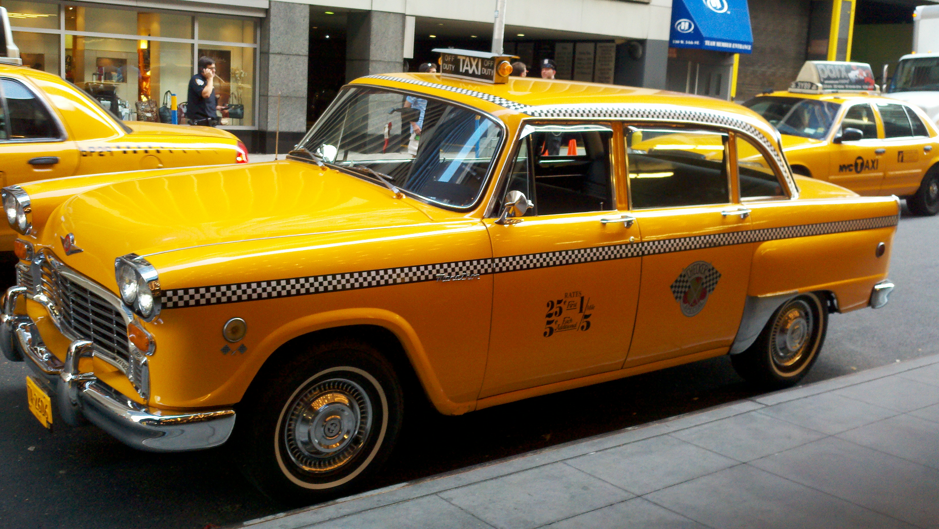 Checker cabs photo - 3