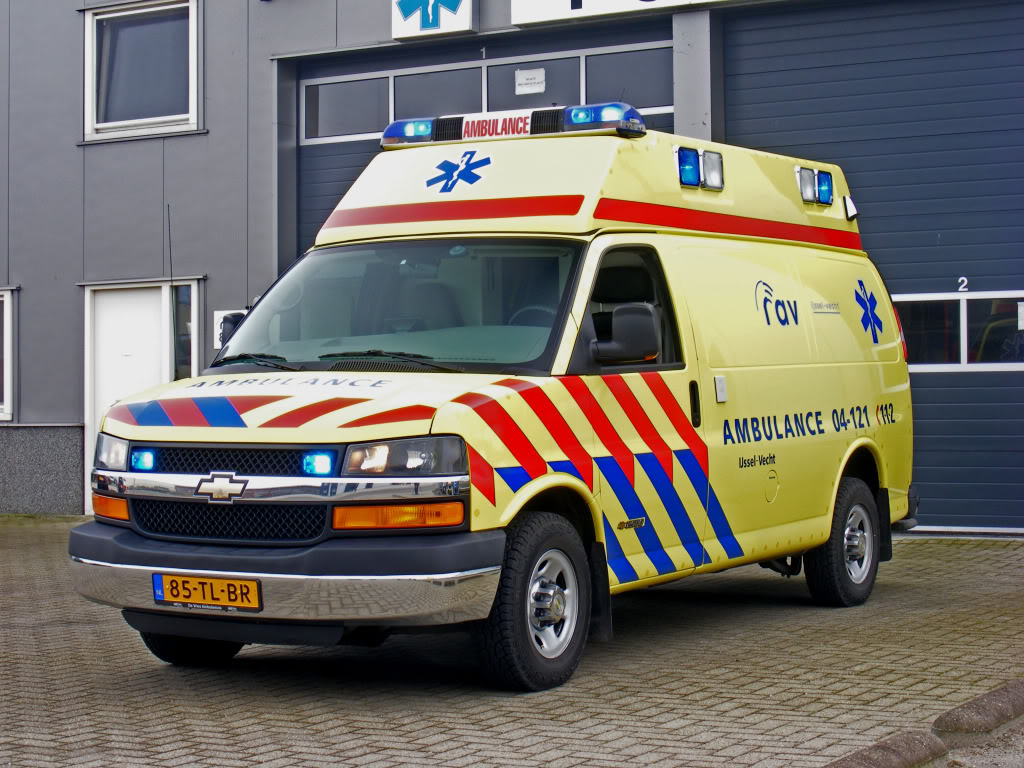 Chevrolet ambulance photo - 2