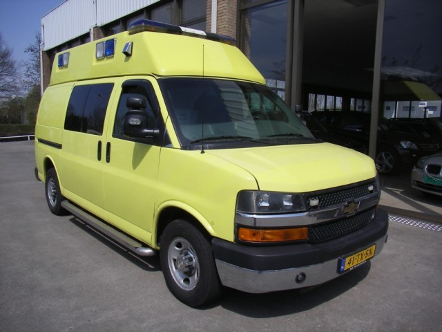 Chevrolet ambulans photo - 1