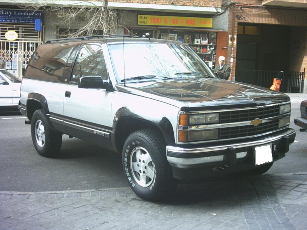 Chevrolet blazer photo - 1