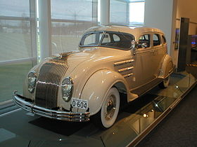 Chrysler airflow photo - 1