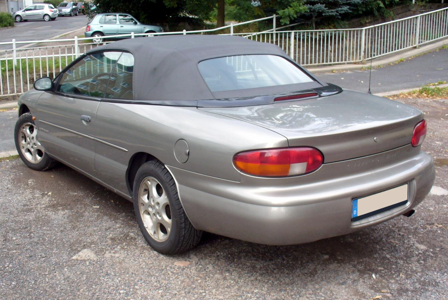 Chrysler cabrio photo - 2