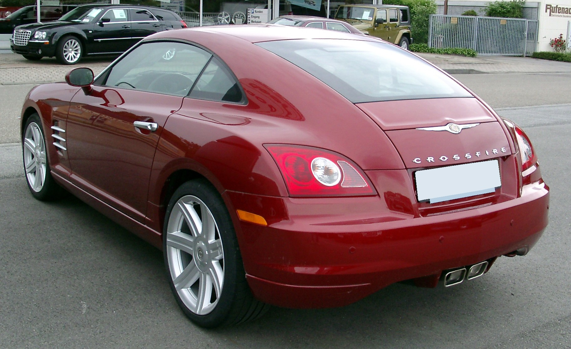 Chrysler crossfire photo - 4