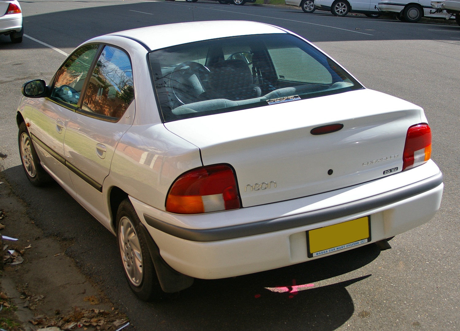 Chrysler neon photo - 3