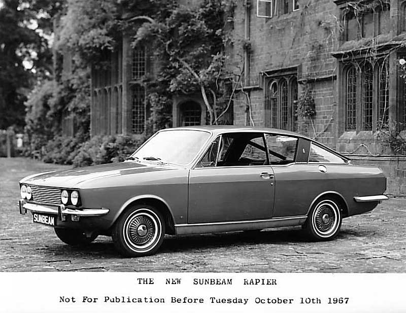 Chrysler sunbeam photo - 3
