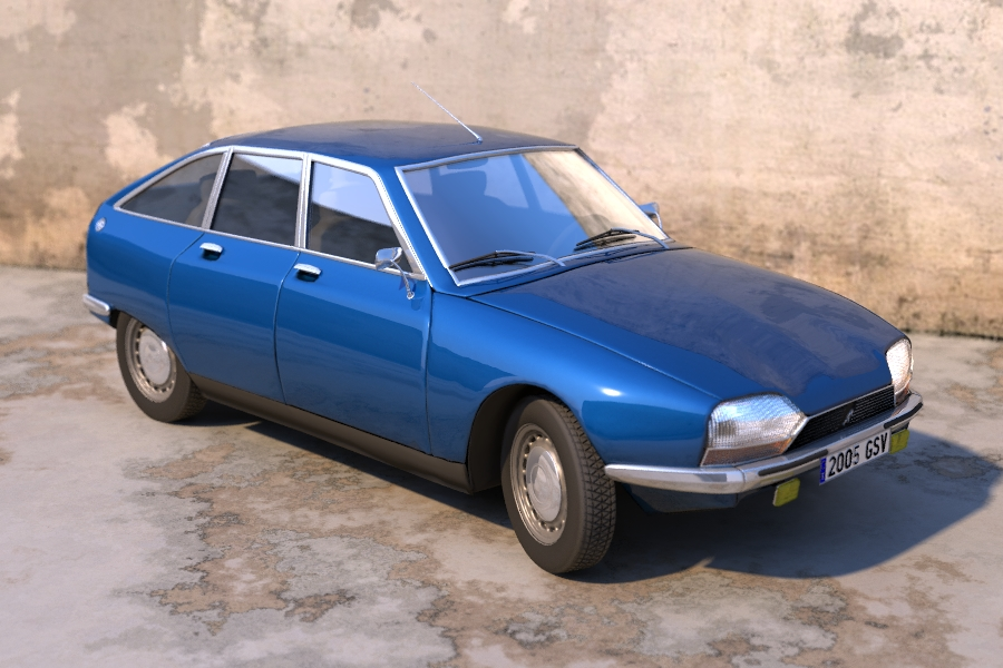 Citroen gs photo - 1
