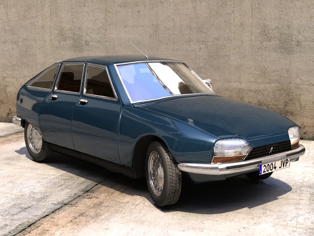 Citroen gs photo - 4