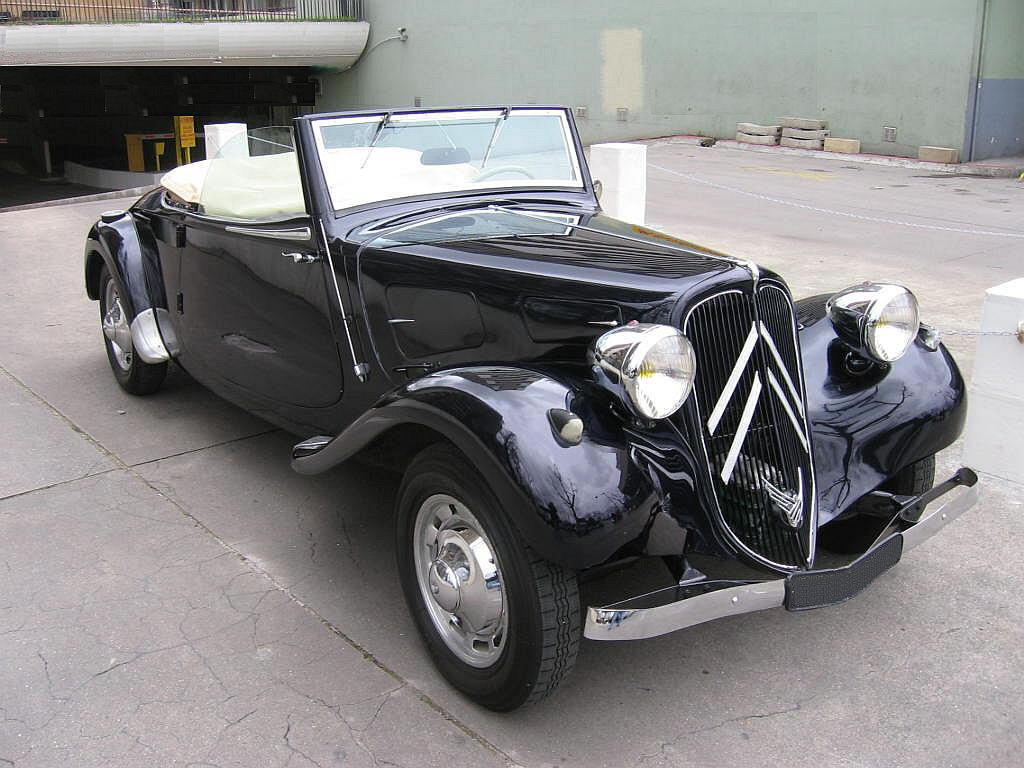 Citroen traction photo - 1