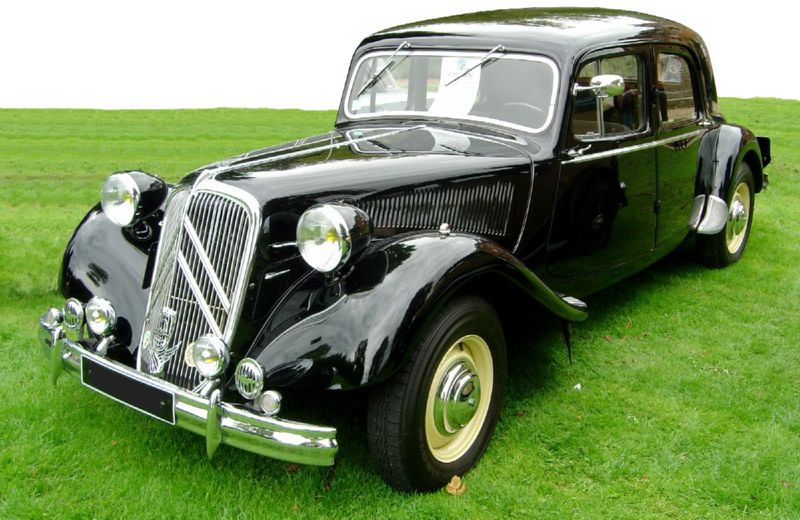 Citroen traction-avant photo - 2