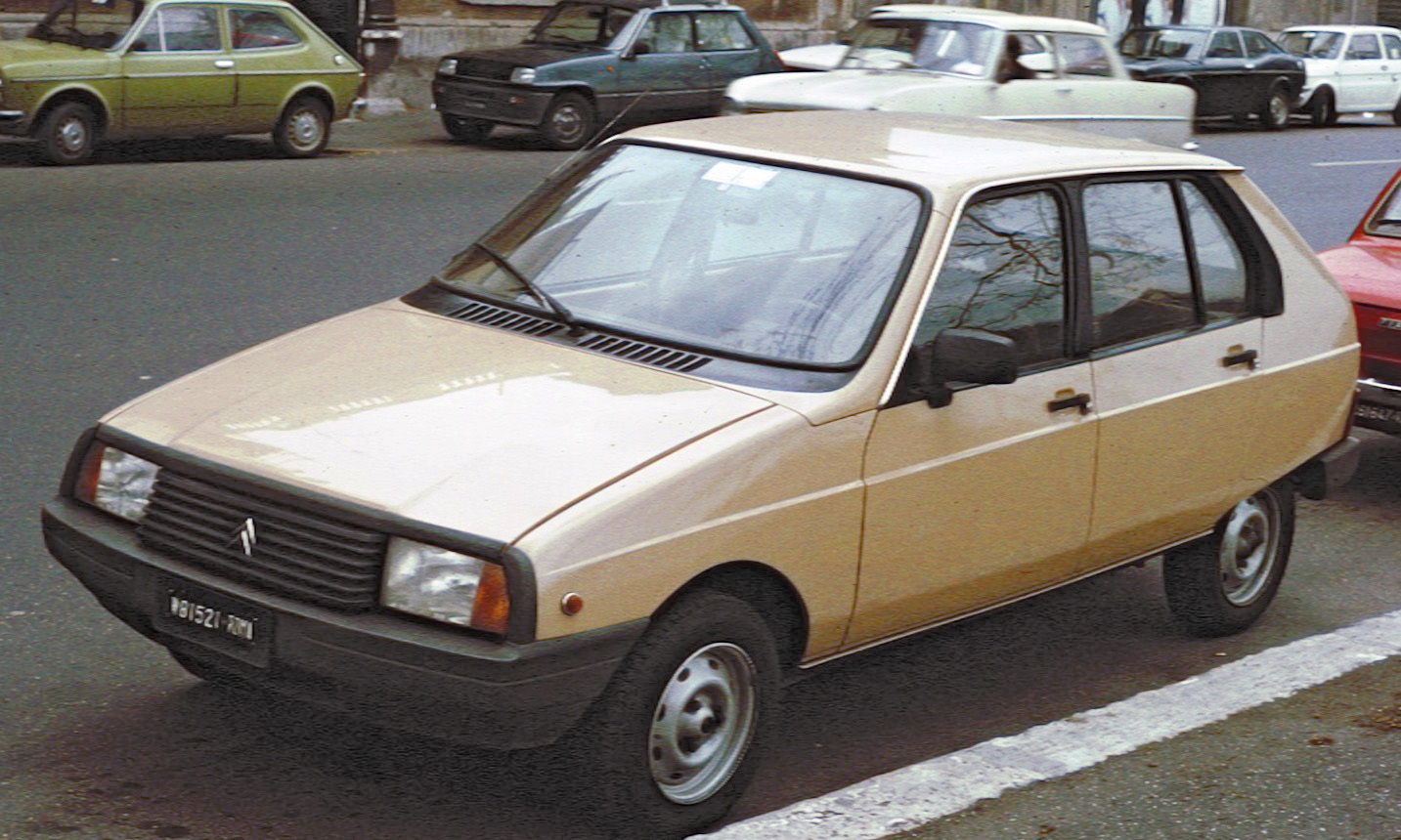 Citroen visa photo - 2