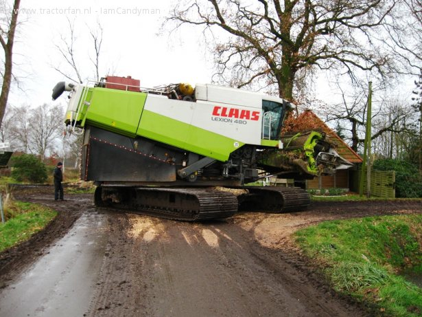 Claas lexion photo - 3