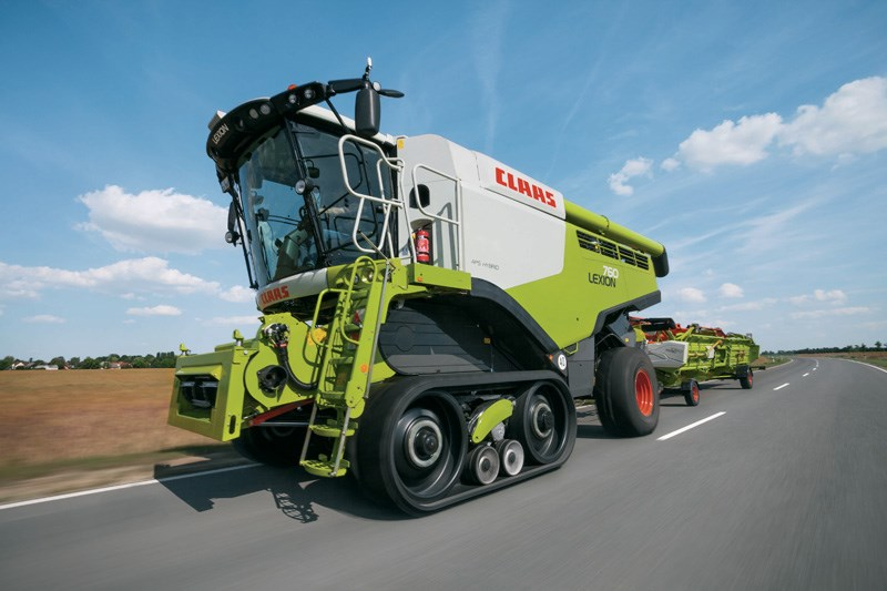 Claas lexion photo - 4
