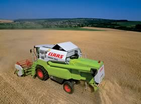 Claas mega photo - 2