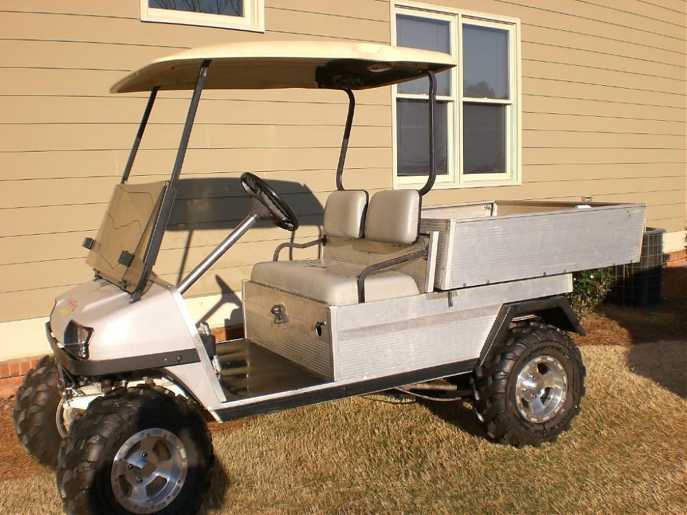 Club car carryall photo - 2