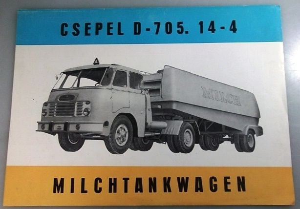 Csepel d-705 photo - 2