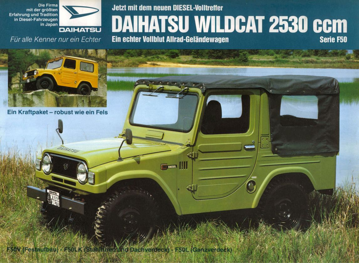 Daihatsu wildcat photo - 1