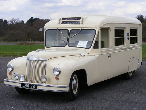 Daimler ambulance photo - 2
