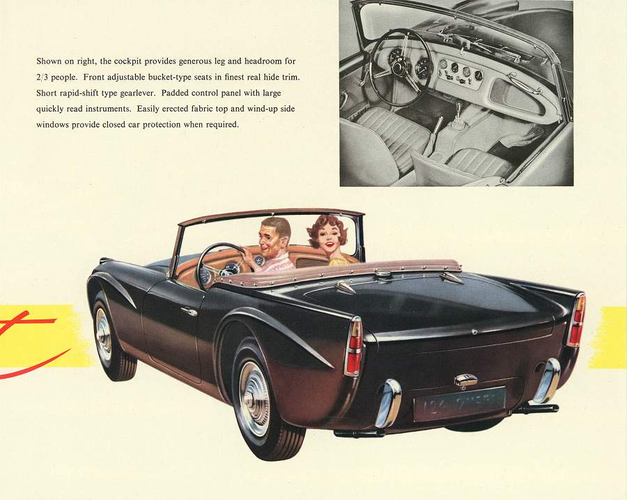 Daimler dart photo - 4