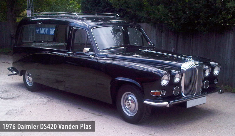 Daimler hearse photo - 4