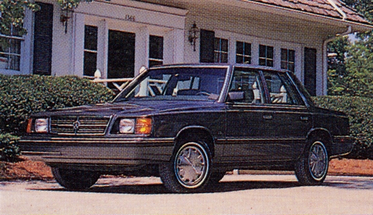 Dodge aries photo - 1