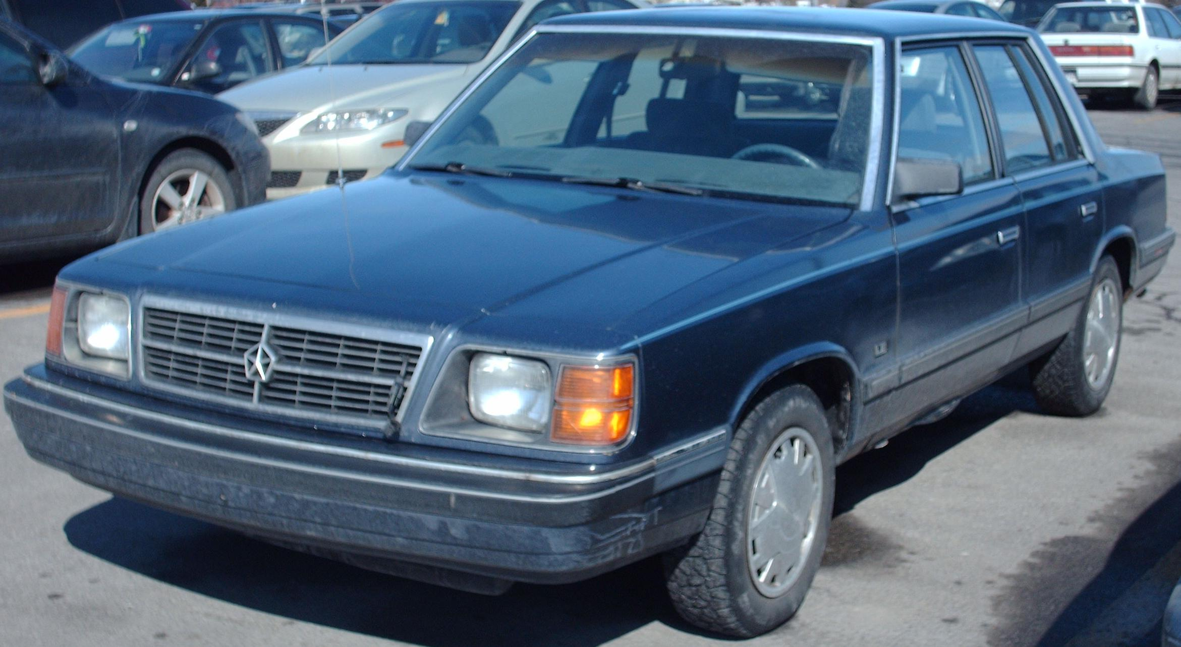 Dodge aries photo - 4